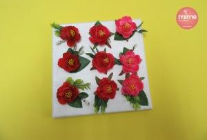 תמונת קנבס פרחים
